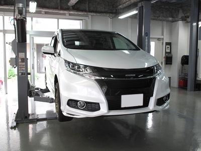 【リジカラ [リジットカラー]】リジカラ オデッセイHV RC4 2WD リア