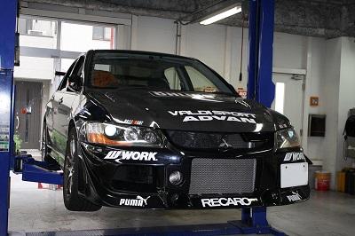 【リジカラ [リジットカラー]】リジカラ ランサーエボIX CT9A 4WD フロント