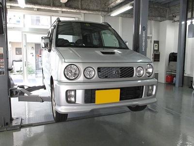 【リジカラ [リジットカラー]】リジカラ ミラ TR-XX L502S 2WD フロント