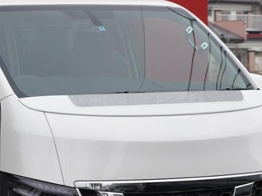 E26 NV350 キャラバン CARAVAN | エアロワイパー【マック | ブリック | ビヨンド】NV350 キャラバン STERLING BLICK ワイパーガード FRP製 未塗装品, アサヒカワシ 9a90c1cb
