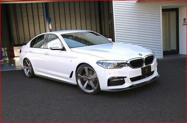 BMW 5 series G30/G31 | サイドステップ【3D デザイン】BMW 5series G30/G31 M-Sport サイドスカート カーボン
