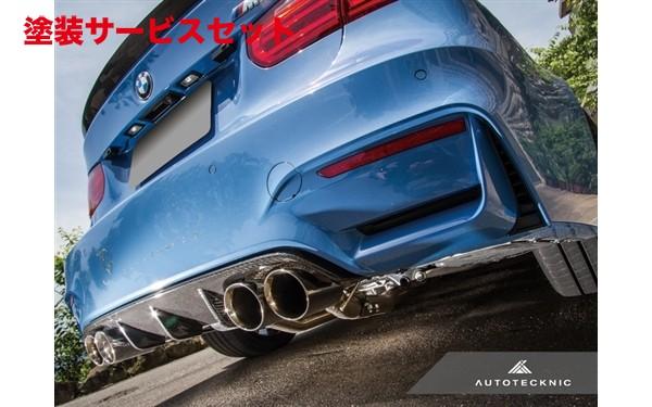 ★色番号塗装発送BMW M3 F80 | リアアンダー / ディフューザー【エニーズ・インターナショナル】BMW F80 M3 カーボン・ディフューザー