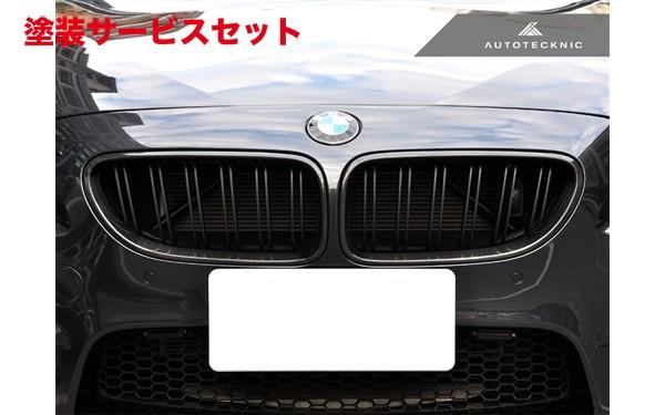 ★色番号塗装発送BMW 6 Series F12/F13   フロントグリル【エニーズ・インターナショナル】BMW F12/F13 M6 6 デュアルスラット・フロントグリル CF