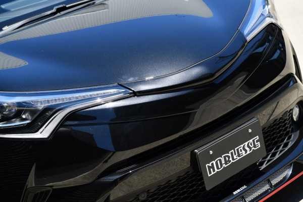 C-HR | フロントグリル【ノブレッセ】CHR マークレスグリル 塗分塗装済 イエロー/ブラックマイカ