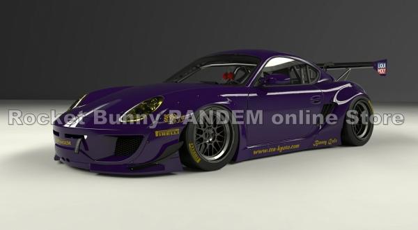 Porsche Cayman 987 | コンプリートボディキット【パンデム】ポルシェ ケイマン 987用 ワイドボディキット