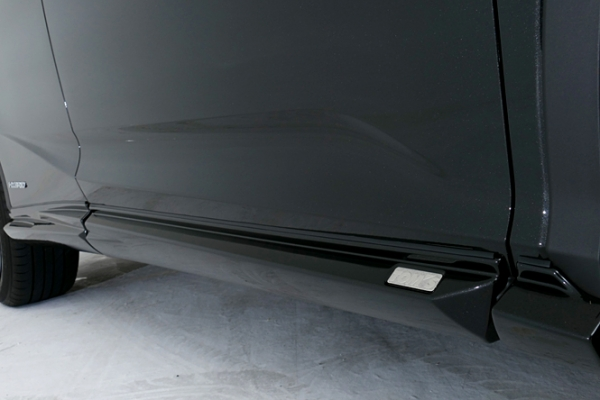 LEXUS RX 200/450 GL2#   サイドステップ【トムス】レクサス RX450h/200t GYL2#/AGL2# サイドステップ ホワイトノーヴァガラスフレーク(083)