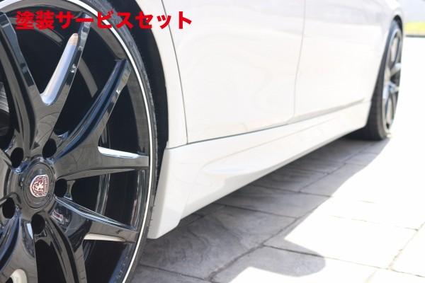 ★色番号塗装発送BMW 3 Series F30/F31/F34 | サイドステップ【アップルオート】BMW 3シリーズ F30 A-REAL サイドスポイラー FRP