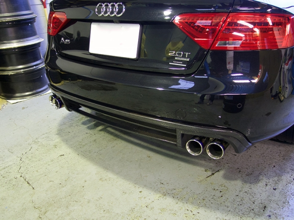 Audi A5 | リアアンダー / ディフューザー【バランスイット】AUDI A5(8T) facelift Sportback rear diffuser FRP