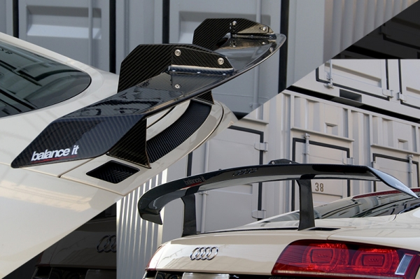 Audi R8 | GT-WING【バランスイット】Audi R8 42 GT Wing カーボン