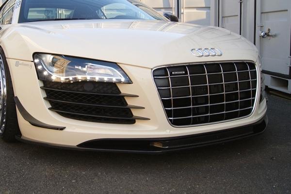 Audi R8 | フロントリップ【バランスイット】Audi R8 42 フロントリップスポイラー FRP