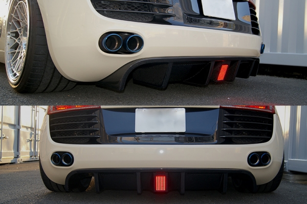 Audi R8 | リアアンダー / ディフューザー【バランスイット】Audi R8 42 リアディフューザー カーボン