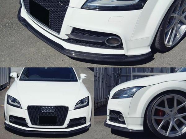 最高の品質の Audi フロントリップスポイラー TT 8J | フロントリップ Audi【バランスイット 8J】AUDI TTS(8J)2008-2014/TT(8J)S-line 2013-2014 フロントリップスポイラー カーボン, ナルキ屋:d4bac113 --- kvp.co.jp