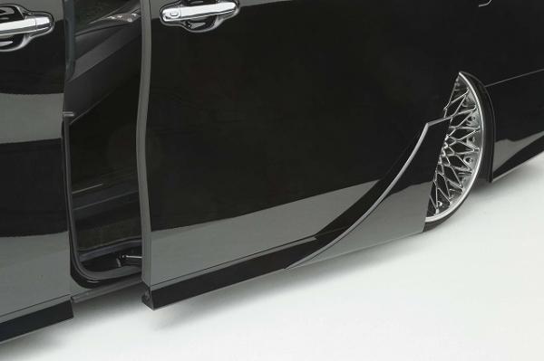 30 アルファード | ドアパネル 2dr【シックスセンス】アルファード 30 後期 Sグレード用 リアドアパネル 未塗装