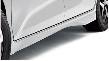サイドステップ【ムゲン】フリード GB 後期 Side Spoiler メーカー塗装:モダンスティールメタリック