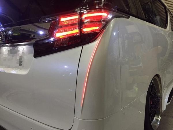 30 ヴェルファイア | コーナーパネル【シックスセンス】ヴェルファイア 30系 後期 LEDリアコーナーパネル メーカー単色塗装