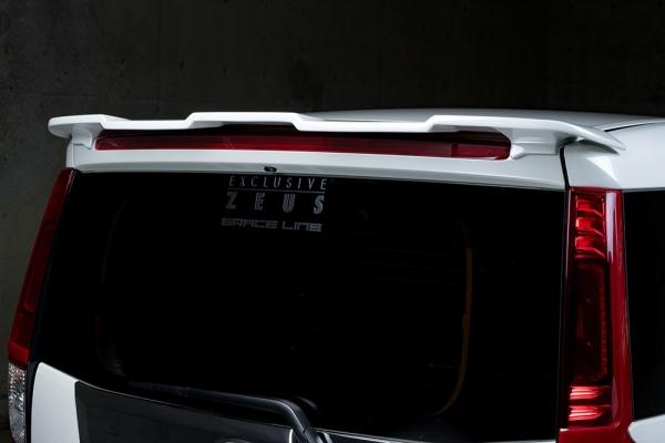 ROOMY | リアウイング / リアスポイラー【エクスクルージブ ゼウス】ROOMY M900A Rear Wing 塗装済:ブラックマイカ(X07)