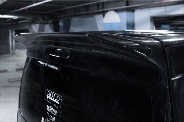 200 ハイエース ワイド | リアウイング / リアスポイラー【スティンガー】ハイエース 200系 4型 ワイドボディ リアウイング