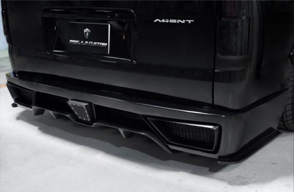 200 ハイエース ワイド   リアバンパー【スティンガー】ハイエース 200系 4型 ワイドボディ リアバンパー+ダクトネット