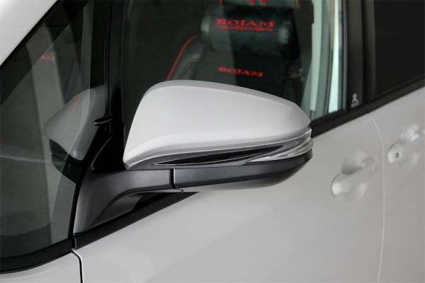 80/85 ヴォクシー VOXY | エアロミラー / ミラーカバー【ロジャム】ヴォクシー 80系 ZS 後期 エアロミラーエクステンション 未塗装