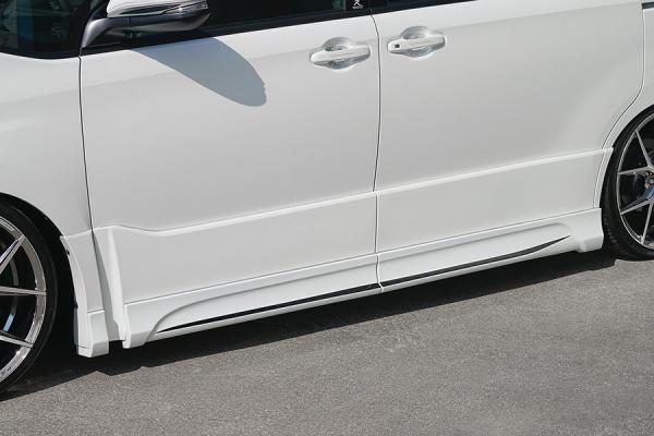 80/85 ヴォクシー VOXY | サイドステップ【ロジャム】ヴォクシー 80系 ZS 後期 サイドステップモール