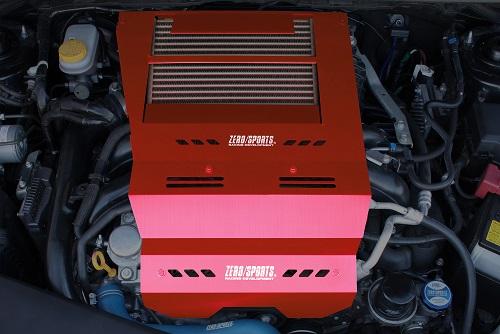 レヴォーグ | エンジンヘッドカバー【ゼロスポーツ】レヴォーグ VM クールアクション2 レッド