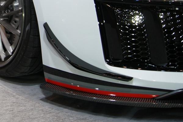 Audi R8 | フロントカナード【バランスイット】Audi R8 4S Front Lip Canards FRP