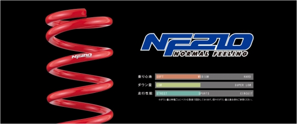 CX-5 KF系 | スプリング【タナベ】CX-5 KF2P SUSTEC NF210 フロント1本