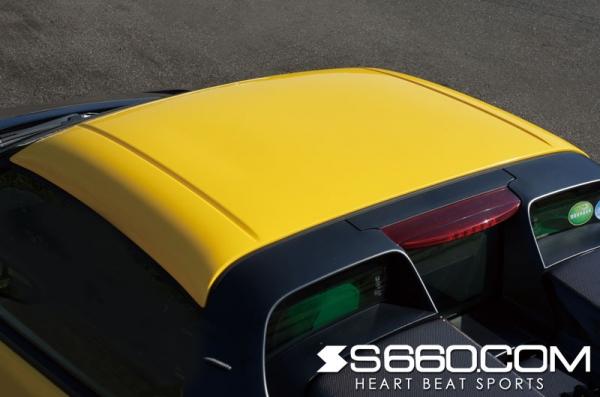 S660 | ハードトップ【S660コム】S660 カラードハードトップ Ver.S メーカーカラード塗装