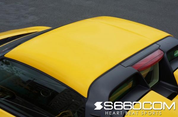 S660 | ハードトップ【S660コム】S660 カラードハードトップ Ver.F メーカー塗装済
