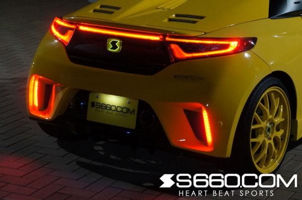 高輝度LEDリフレクター S660 SPIDER | S660 リフレクター 【S660コム