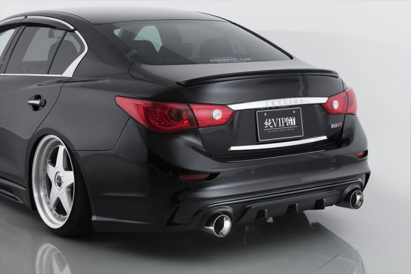 V37 スカイラインセダン | トランクスポイラー / リアリップスポイラー【エイムゲイン】SKYLINE V37 純VIP GT トランクスポイラー