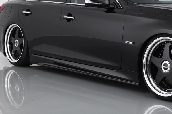 V37 スカイラインセダン | サイドステップ【エイムゲイン】SKYLINE V37 純VIP GT サイドステップ