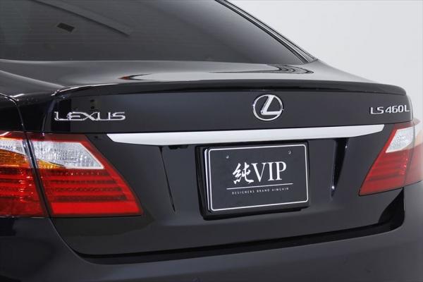 LEXUS LS | トランクスポイラー / リアリップスポイラー【エイムゲイン】LEXUS LS460/460L USF40/41 中期 純VIP トランクスポイラー