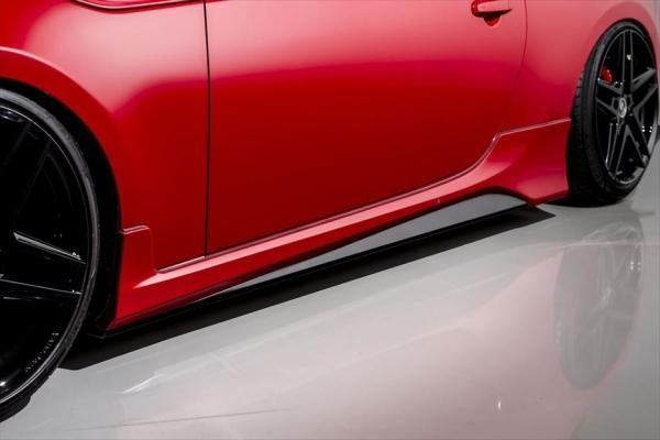 86 - ハチロク - | サイドステップ【エイムゲイン】86 ZN6 AIMGAIN GT-F サイドスカート(純正フェンダー専用)