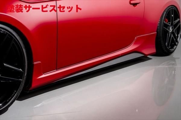 ★色番号塗装発送86 - ハチロク - | サイドステップ【エイムゲイン】86 ZN6 AIMGAIN GT-F サイドスカート(純正フェンダー専用)