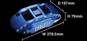 V36 スカイラインクーペ | ブレーキキット【エンドレス】6POTキャリパー システムインチアップキット (フロント用) スカイライン V36/PV36/NV36
