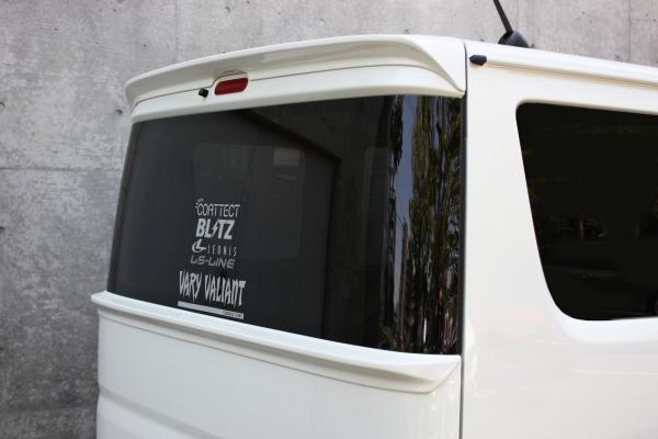 エブリイワゴン DA17W | ルーフスポイラー / ハッチスポイラー【ガレージベリー】エブリイ DA17W/V用 ゲートスポイラー
