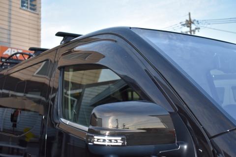 E26 NV350 キャラバン CARAVAN | サイドバイザー / ドアバイザー【エアーズロックジャパン】NV350キャラバン E26 ウィンドバイザー ワイドタイプ