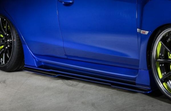 WRX VA STI S4 | サイドフィン【ルーフ / クール】WRX STI&S4 VAB サイドステップディフューザー HG 未塗装