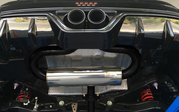 C-HR | ステンマフラー【ノブレッセ】CHR センター2本出しマフラー90 ガソリン車4WD STDステン仕様