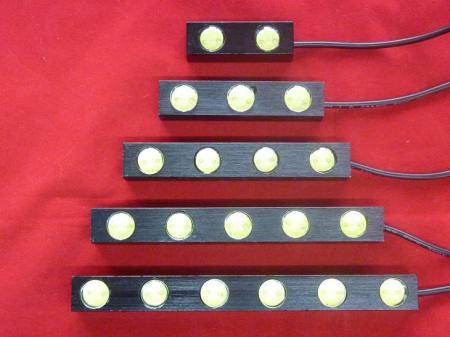 E26 NV350 キャラバン CARAVAN | フロント デイライト【エアーズロックジャパン】NV350キャラバン E26 ハイパワーLEDデイライト ホワイト 6連LED