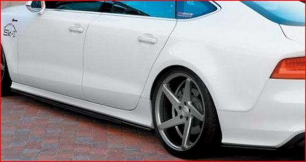 Audi A7 Sportback | エアロ 2点 セット【アルピール】Audi S7/A7 S-Line Sportbackk Side & Rear Under Spoiler Set Carbon