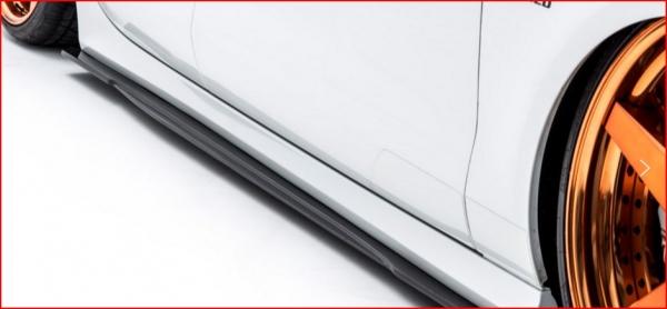 Audi A7 Sportback | サイドステップ【アルピール】Audi A7 Sportback Side Step & Side Flap (4piece) FRP