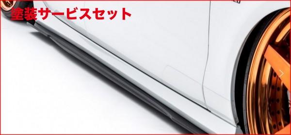 ★色番号塗装発送Audi A7 Sportback | サイドステップ【アルピール】Audi A7 Sportback Side Step & Side Flap (4piece) FRP