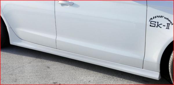 Audi A6 C7 | サイドステップ【アルピール】Audi S6/A6 C7 Side Step FRP