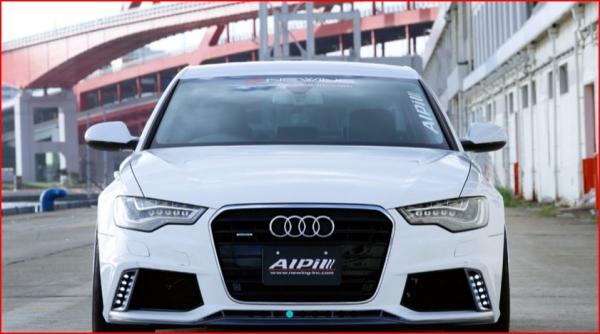 Audi A6 C7   フロントバンパー【アルピール】Audi S6/A6 C7 Front Bumper Spoiler FRP