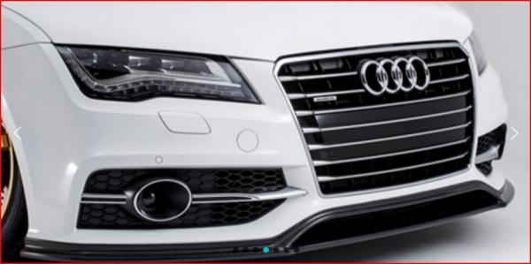 Audi A7 Sportback | フロントリップ【アルピール】Audi S7/A7 S-Line Sportbackk Front Lip Spoiler Carbon