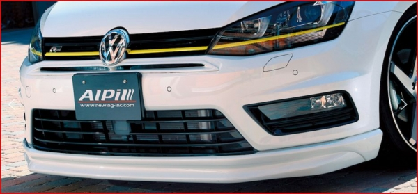 VW GOLF VII Variant | フロントバンパー / エアダクト【アルピール】VW GOLF VII Variant R-Line Front Bumper Duct FRP