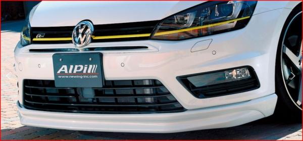 VW GOLF VII Variant | フロントリップ【アルピール】VW GOLF VII Variant R-Line Front Lip Spoiler Carbon