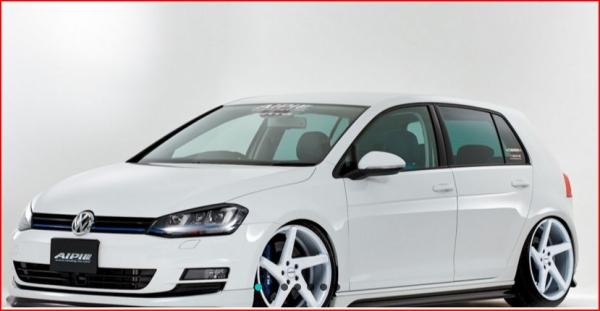 フォルクスワーゲン ゴルフ 7 VW GOLF VII | サイドステップ【アルピール】VW GOLF VII TSI Side Step Carbon